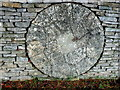 SP1521 : Millstone at Slaughter Farm (7) by Nigel Mykura