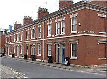 SK5803 : Leicester - terrace on Tower Street by Dave Bevis
