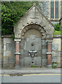 ST5039 : Drinking fountain, Glastonbury by Chris Allen