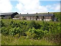 SO1107 : Derelict factory buildings, Rhymney by Robin Drayton