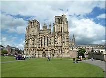 ST5545 : Wells Cathedral by Chris Allen