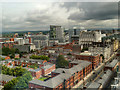 SJ8397 : View from Beetham Tower by David Dixon