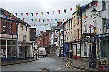 SO2956 : High Street, Kington by Jim Barton