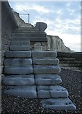 TQ4200 : Steps to the Beach by Simon Carey