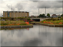 SJ8298 : Manchester, Bolton and Bury Canal, Salford by David Dixon