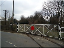 TR2648 : Level crossing, Shepherdswell by Stacey Harris