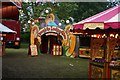 TQ2989 : Fairground attraction, Priory Park by Julian Osley