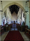NZ0772 : The Parish Church of St Mary the Virgin, Stamfordham, Interior by Alexander P Kapp