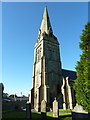 NZ0371 : Holy Trinity, Matfen, Spire by Alexander P Kapp