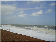 TQ7407 : Bexhill beach by Stacey Harris