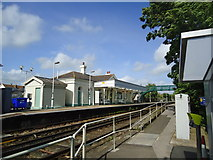 TQ6304 : Pevensey and Westham railway station by Stacey Harris