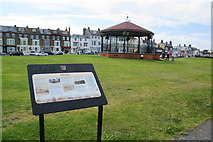 TR3751 : Bandstand on the green at Walmer by Bill Boaden