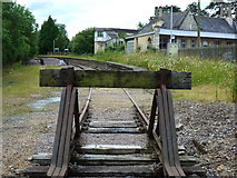 ST9897 : Remnants of the old Cirencester line, at Kemble station by Ruth Sharville