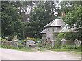 NO2995 : East lodge, Abergeldie Castle by Stanley Howe
