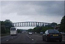 SU6350 : Pendsell Farm Bridge, M3 by N Chadwick