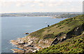 SW8431 : The view from St Anthony Head by roger geach