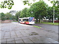 W7271 : Bus stand in Mahon, Cork by David Hawgood