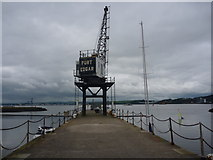 NT1278 : Coastal South Queensferry : The Pier at Port Edgar by Richard West