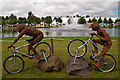 TQ1668 : Willow Olympics by Ian Capper