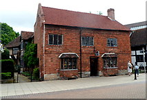 SP2055 : Grade II listed Shakespeare Giftshop, Henley Street, Stratford-upon-Avon by Jaggery