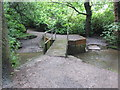 SU4410 : Itchen Way on footbridge by Peter Holmes