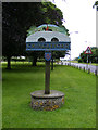 TG1905 : Cringleford Village Sign by Adrian Cable