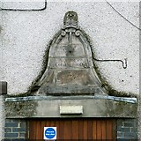 NS3975 : Old stone, Dumbarton Library by Lairich Rig