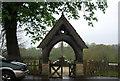 TQ0107 : Lych gate, Roman Catholic Cemetery by N Chadwick
