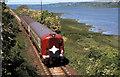 J4694 : Train, Ballycarry (1985) by Albert Bridge