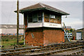 D4102 : Larne Harbour signal cabin by Albert Bridge