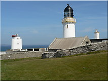 ND2076 : Lighthouse & Foghorn by Liz Gray