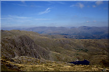 NY2807 : Pavey Ark and Stickle Tarn from Harrison Stickle by Christopher Hilton