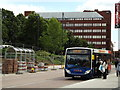 SU6352 : Basingstoke Bus Station by Colin Smith