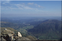 NY3006 : Great Langdale from Pavey Ark by Christopher Hilton