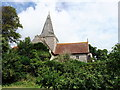 TQ5202 : St Andrews Church, Alfriston, East Sussex by PAUL FARMER