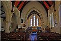 TQ8511 : Interior, St Andrew's church, Fairlight by Julian P Guffogg