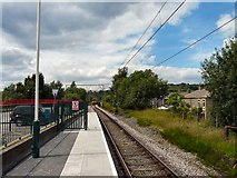 SK0394 : Glossop Station by Gerald England