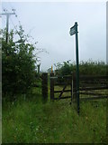 SK6514 : Footpath to Rearsby by JThomas