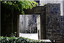 R4560 : Bunratty Park - Site #4 - Castle Courtyard Entrance by Joseph Mischyshyn