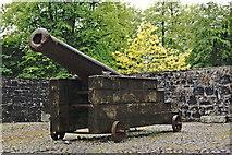 R4560 : Bunratty Folk Park - Site #4 - Castle - Cannon by Joseph Mischyshyn