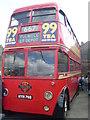 TQ1471 : Trolleybus 1768 (HYM 768) at Fulwell Bus Depot by David Hillas