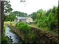NS7571 : Milncroft Mill by Stephen Sweeney