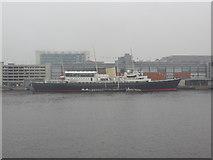 NT2677 : Former Royal Yacht Britannia at Leith Docks by John Ferguson