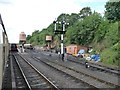 SO7975 : Approaching Bewdley Station from Kidderminster by Christine Johnstone