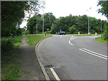 TQ1739 : Wolves Hill junction with the A24 by Dave Spicer