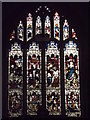 TQ0466 : Chertsey, East Window by Colin Smith