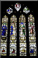 SX1867 : Calway Window, St Anietus' Church, St Neot by Bill Harrison