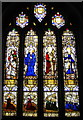 SX1867 : Borlase Window, St Anietus' Church, St Neot by Bill Harrison