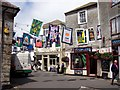 SX0144 : 2012 Street Decorations, Mevagissey by Len Williams