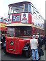 TQ1471 : Trolleybus 1 (HX 2756) at Fulwell Bus Depot by David Hillas